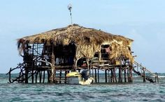 Pelican Bar only accessible by boat!