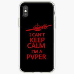 """""""Keep Calm PVP Gamers"""" iPhone & Galaxy Phone Cases & Covers by HavenDesign Galaxy Phone Cases, Cant Keep Calm, Pvp, Iphone Case Covers, Games To Play"""