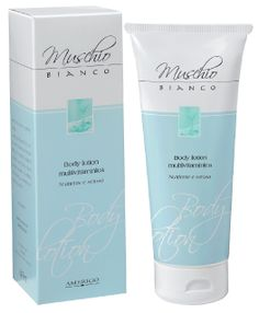crema corpo muschio bianco Amerigo Made in italy -body lotion multivitaminica 200 ml €9,70