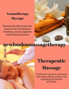 Get relaxed and relieve stress, schedule a personalized session today! http://www.newlondonmassagetherapy.com/