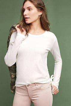 Pearl Ruched Pullover