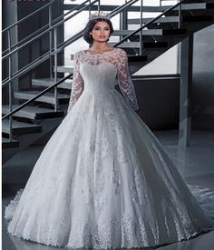 Lace Wedding Dresses Long Sleeve