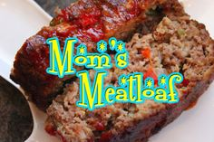 Mom's Meatloaf Recipe from 50's Prime Time Cafe (Hollywood Studios)  www.TheDisneyDiner.com