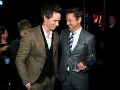 Best! Eddie Redmayne & Robert Downey JR in 1 photo