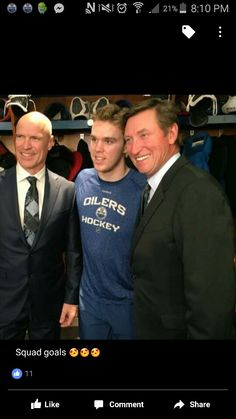 Messier, McDavid and Gretzky