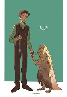 Regulus Black and Kreacher