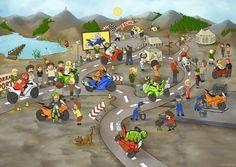 (2014-09) Hvad gør de på motocrossbanen?
