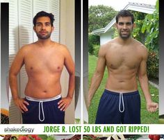 "Lost 50 LBS! Shakeology reviews... Jorge says: ""My health has transformed! Thanks to the help of Shakeology I lost 50 pounds, but even better I have kept it off for good, not like when I used to yoyo diet."" #ShakeologyResults http://www.tipstoloseweightblog.com/shakeology-reviews-results"