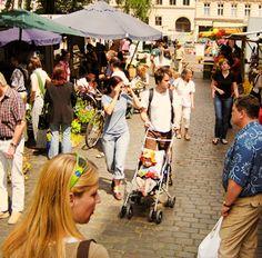 Organic market at Chamissoplatz