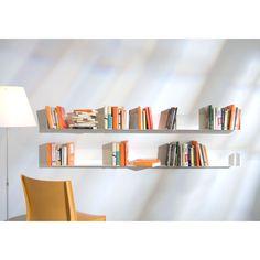 Architectural Light Book Shelves