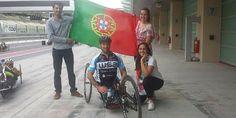 Paraciclista português ganha duas medalhas de ouro em Abu Dhabi