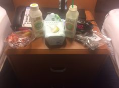 Staying right outside the Missouri tiger's university...this is what was for dinner... Rainbow heirloom carrots, coconut/date rolls,and protein evolution drink and greens evolution drink, and of course some coconut water..great for my sore legs that are still healing