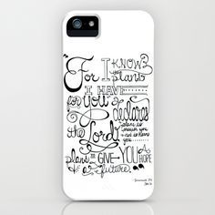 Jeremiah 29:11 iPhone Case by Shannon Sutton - $35.00  I want to get this!