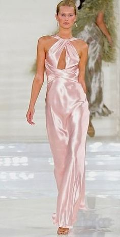 ralph, lauren, light, pink, silk, jumpsuit by 2 on Lolobu #ralph