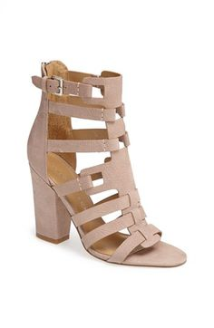 Ivanka Trump 'Elston' Cutout Bootie available at by liliana Pretty Shoes, Cute Shoes, Me Too Shoes, Sock Shoes, Shoe Boots, Shoes Heels, Pumps, Nude Sandals, Crazy Shoes