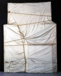 Christo and Jeanne-Claude, Wrapped Paintings, 1969