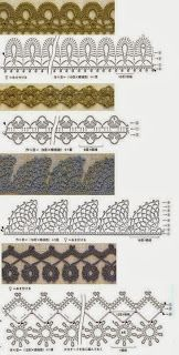 Искусство с QUIANE - Каши, Пресс-формы, EVA, войлок, швов, 3D Fofuchas 22 графических крючком и идей