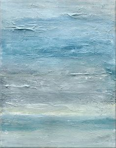 Seascape Original Abstract Painting  20X16 Gallery by LoriMarie, $224.00