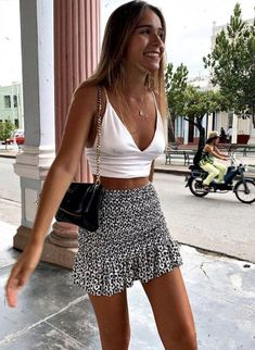 cute summer outfits for teens dresses Cute Casual Outfits, Girly Outfits, Mode Outfits, Sporty Outfits, Cute Beach Outfits, Teen Skirts Outfits, Cute Outfits With Skirts, Stylish Outfits, Cute Vacation Outfits