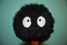 Big Soot Sprite Pillow by MOLAPILA on Etsy, $20.00