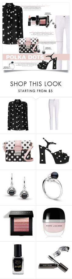 """""""Polkadots #4"""" by elimarga ❤ liked on Polyvore featuring Boutique Moschino, rag & bone, RED Valentino, H&M, Yves Saint Laurent, Bobbi Brown Cosmetics, Marc Jacobs, Barry M, Smashbox and PolkaDots"""