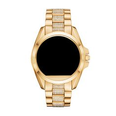 Search results for: 'collections michael-kors-access products michael-kors-ladies-access-pave-crystal-bradshaw-gold-smartwatch' Smartwatch, Michael Kors, Collections, Crystals, Lady, Gold, Smart Watch, Crystals Minerals, Crystal