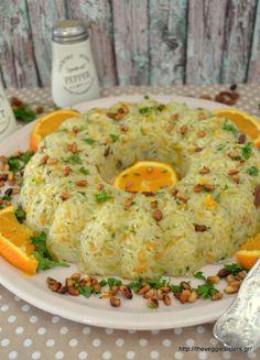 The Veggie Sisters Orzo Recipes, Greek Recipes, Rice Recipes, Appetizer Recipes, Vegan Recipes, Cooking Recipes, Recipies, Greek Cooking, Easy Cooking
