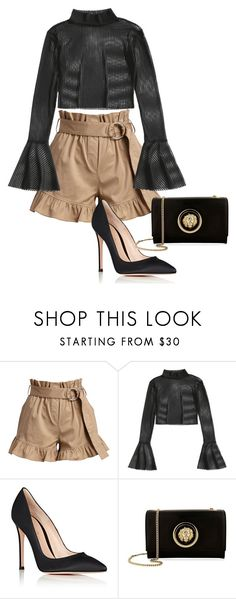 """""""Midday to Midnight"""" by meghanleeson on Polyvore featuring Cinq à Sept, Gianvito Rossi and Versus"""