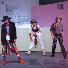 Shalamar - The Look - LP [back cover] - Solar - 1983