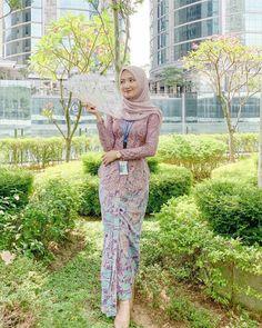 Kebaya Muslim, Kebaya Hijab, Kebaya Dress, Batik Kebaya, Model Kebaya Brokat Modern, Kebaya Modern Hijab, Kebaya Bali, Beau Hijab, Hijab Style Dress