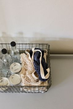 How to build a simple toolkit for zero waste, plastic-free grocery shopping | Litterless