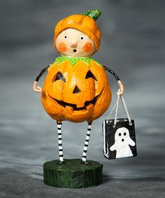 Look at this Punkin Pie Figurine on #zulily today!