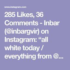 "285 Likes, 36 Comments - Inbar (@inbargvir) on Instagram: ""all white today / everything from @zara 🕊🌴 _____________________________ #streetstyledeluxe…"""