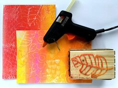 Printing with Gelli Arts®: Gelli® Printing Fun With Texture Blocks Collages, Make Your Own Stamp, Gelli Plate Printing, Gelli Arts, Diy Store, Fabric Textures, Art Journal Pages, Projects For Kids, Art Blog