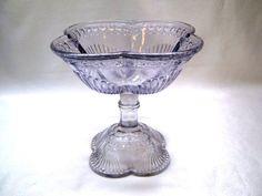 Starožitná cukřenka • levandulové sklo r. 1890-1922