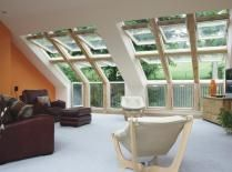 Schon Velux Dachfenster, Balkon, Haus Umbau, Scheune, Satteldach, Dachgeschoss,  Schlafzimmer,