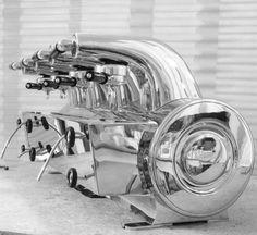 Gio Ponti, 'La Cornuta' Espresso Machine for La Pavoni,1947/48.