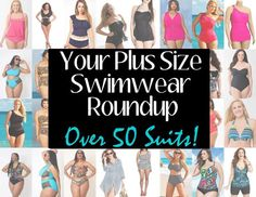 Photo: Been looking for Swim Inspiration? Check out our mega roundup of over 45 bathing suits for your shopping pleasure! Take a peek:     Shop Here: http://thecurvyfashionista.mariedenee.com/2013/05/the-ultimate-plus-size-swimwear-guide-40-swimsuits-and-bikinis-to-strut-in-this-summer/