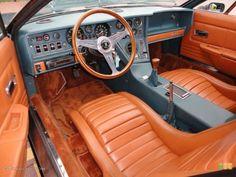 1974 Maserati Bora Gran Turismo interior