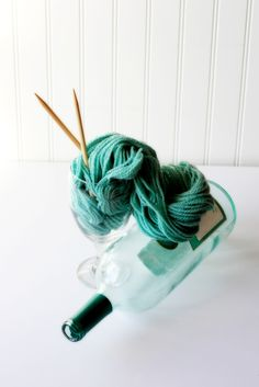Yart -- yarn art at Ladybug Knits
