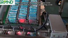 Automatic cartoning machine for condom