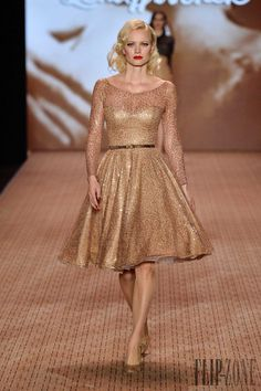 Lena Hoschek Outono-Inverno 2014-2015 - Prêt-à-porter - http://pt.flip-zone.com/fashion/ready-to-wear/independant-designers/lena-hoschek-4434