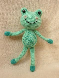 Croc Frog amigurumi pattern