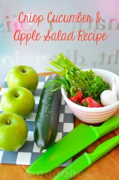 Crisp Cucumber & Apple Salad Recipe