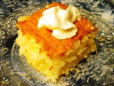 Angel Food Pineapple Dump Cake - What's not to love about dump cake recipes