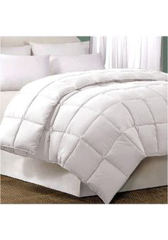 Blue Ridge Home Fashions 033005 Home,D/C-1 White Microfiber Feather Down Comforter, Bedding & Bath Blue Ridge Home Fashions Bedding Home