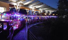 Celebrate the season with a ride on the Hermann Park Holiday Train, adorned with Christmas lights & decorations, at Houston's Hermann Park.