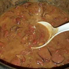 Pressure Cooker Red Beans and Sausage Pressure Cooker Beans, Digital Pressure Cooker, Instant Pot Pressure Cooker, Pressure Cooker Recipes, Pressure Cooking, Pressure Oven, Sausage Recipes, Beef Recipes, Cooking Recipes