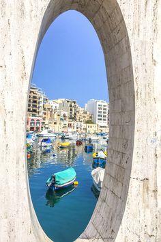St.Julian's Bay, Malta, by SandraZ