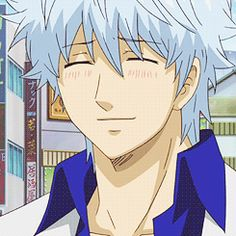 blushing gintoki is as cute as holhy heaven~